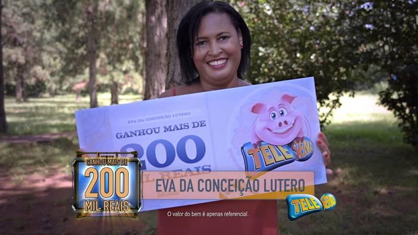 tele sena é verdade ou mentira Ganhadora de 200 mil reais