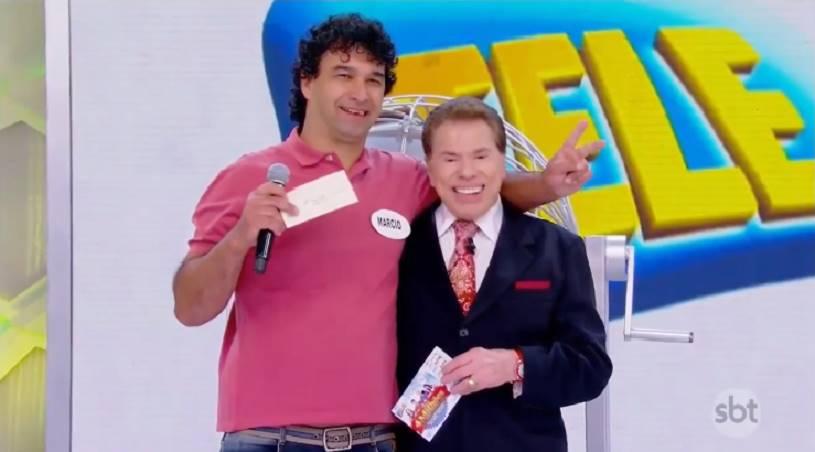 Ganhador da Tele Sena e Silvio Santos