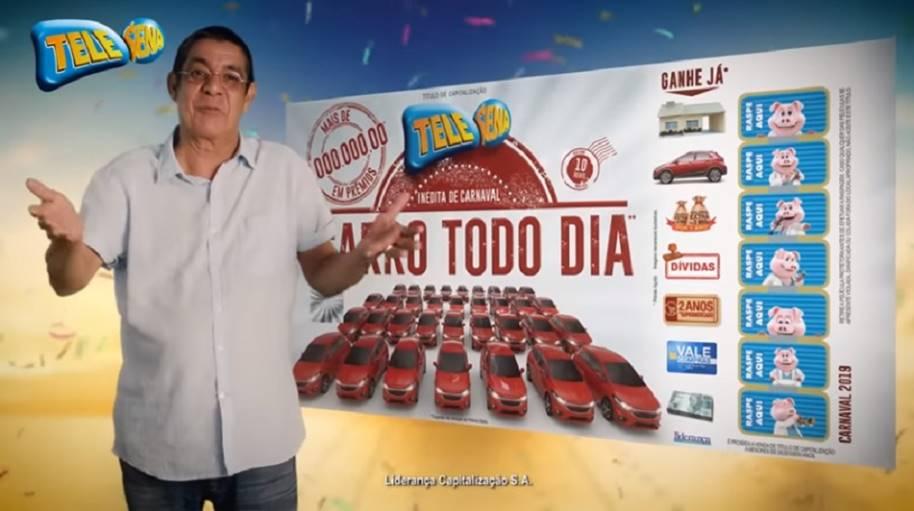 Zeca Pagodinho - Tele Sena de Carnaval 2019