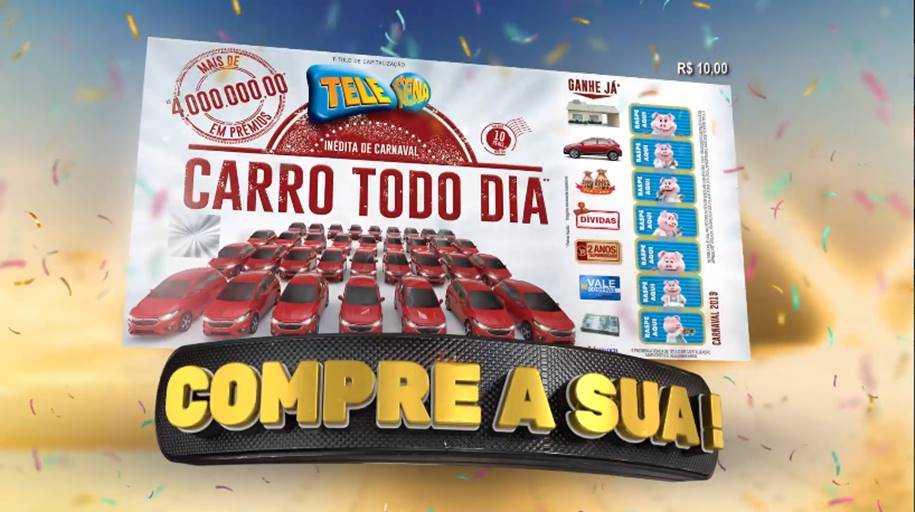 Tele Sena de Carnaval 2019 - Compre a sua
