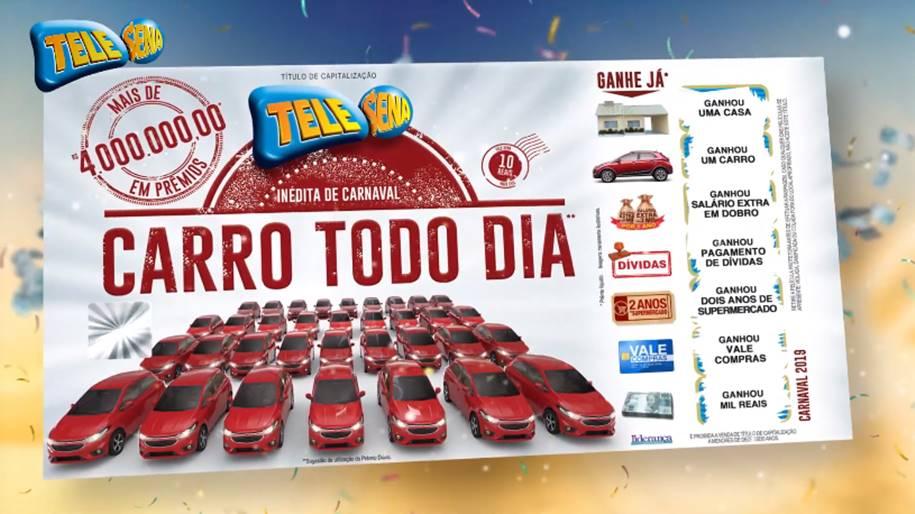 Tele Sena de Carnaval 2019 - Todo dia é dia de Folia