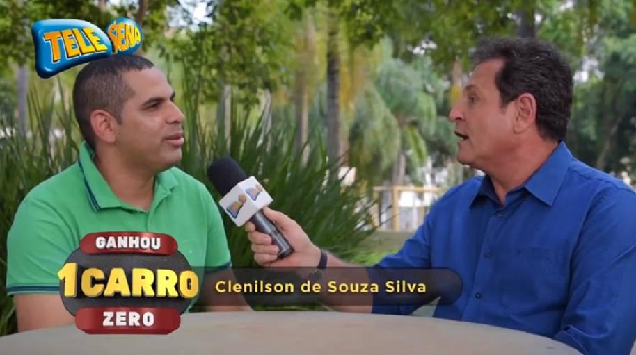 Ganhadores Promoção carro todo dia - Clenilson de Souza Silva