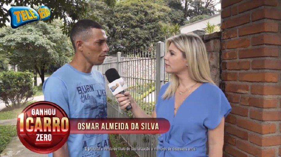 Ganhadores Promoção carro todo dia - Osmar Almeida da Silva