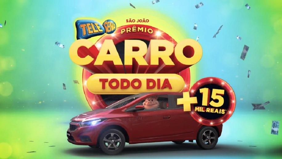 Tele Sena de São João 2019 - Carro todo dia