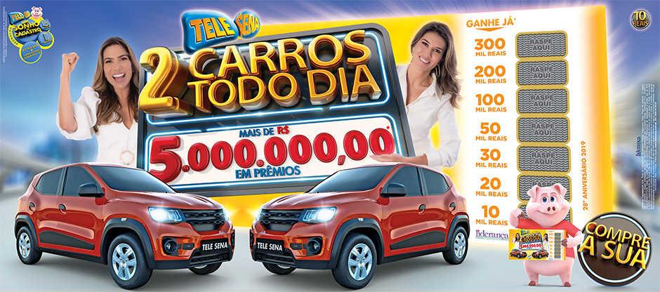 Resultado Final Tele Sena de Aniversário 2019 – Carro Todo Dia