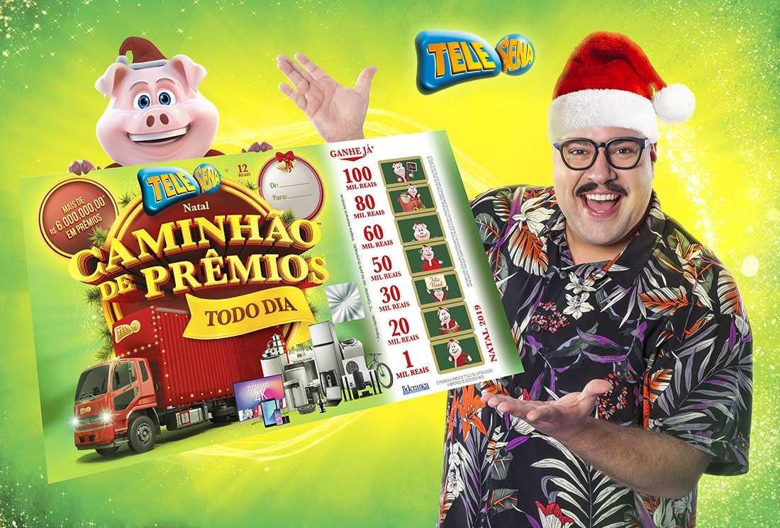Resultado Final Tele Sena de Natal 2019 – Caminhão de Prêmios