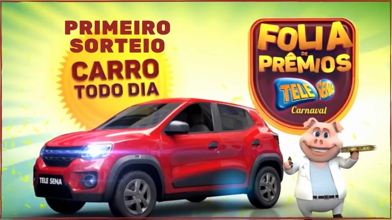 Resultado Final da Tele Sena de Carnaval 2020 com Carro Todo Dia