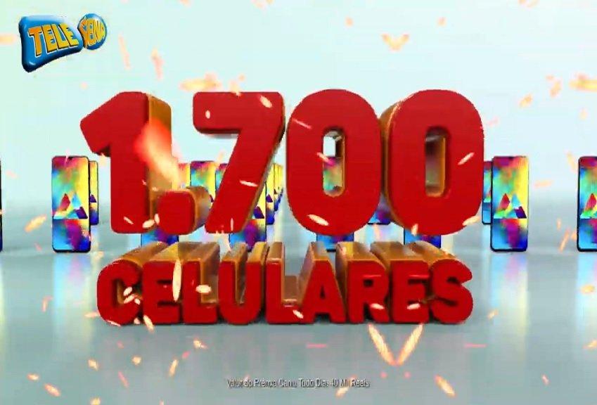 Tele Sena sorteio Celular – 50 Smartphones diários