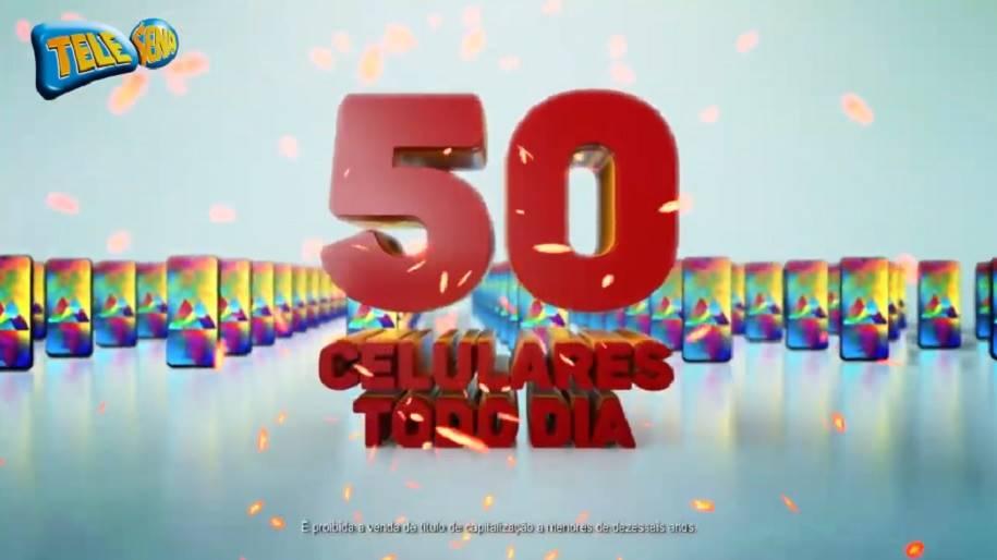 Tele Sena sorteio Celular – São 50 Smartphones diários