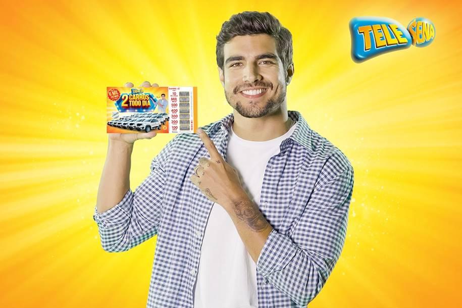 Caio Castro Estrela a nova Campanha de Páscoa da Tele Sena
