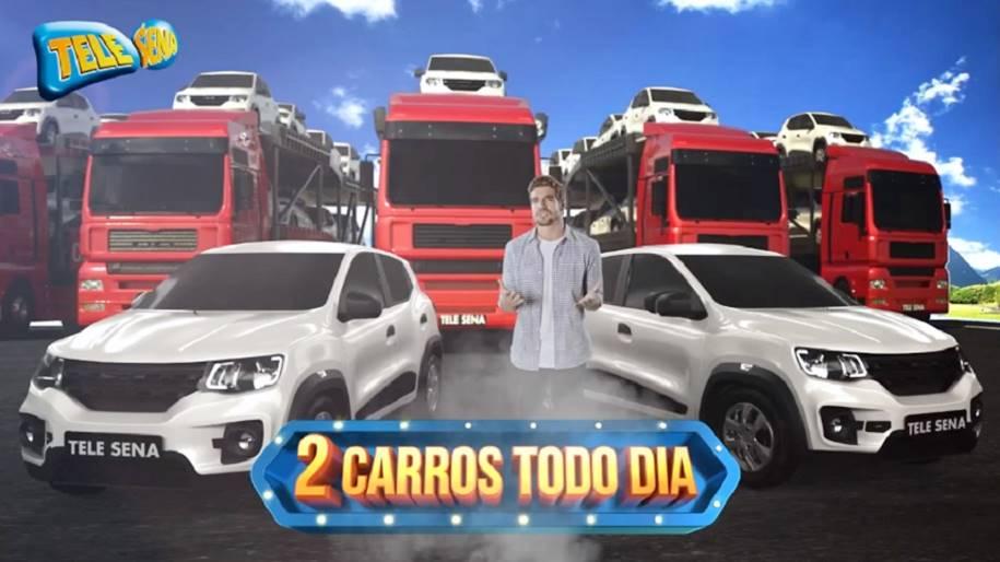 Conheça a Super Promoção Tele Sena 2 Carros Todo Dia
