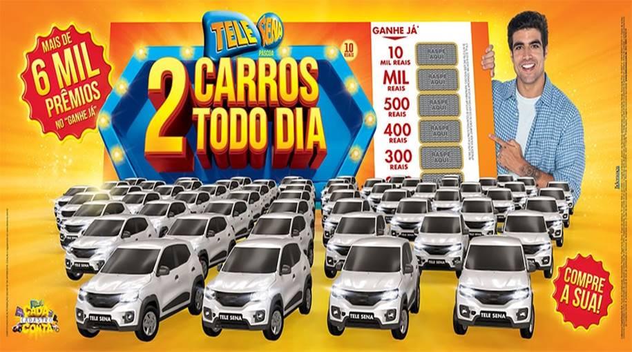 Tele Sena de Páscoa 2020 – Mais de 6 Mil Prêmios